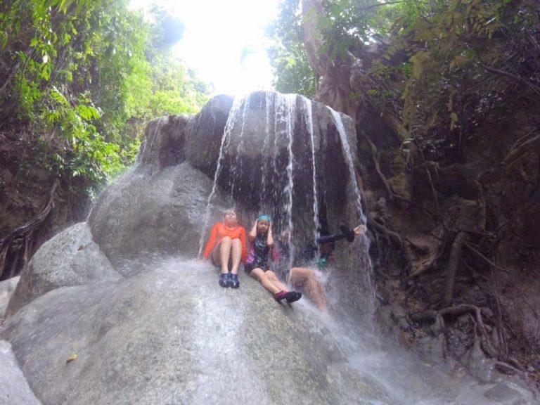 Rappelling Aguinid Falls Samboan