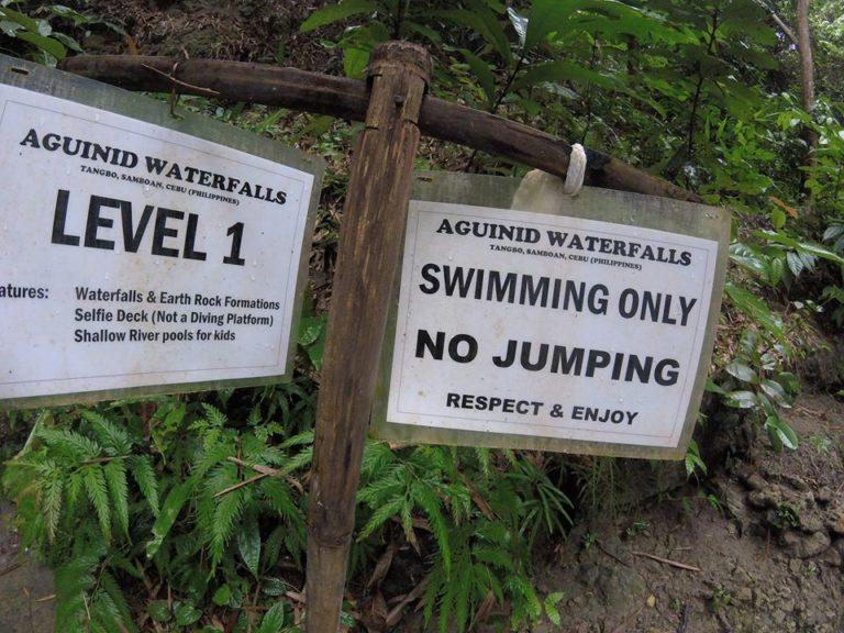 level 1 Samboan Falls