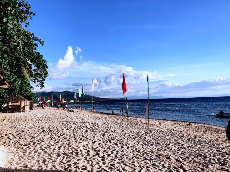 lambug beach badian cebu