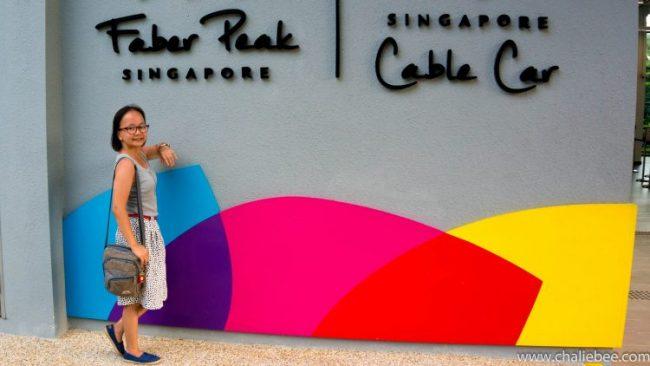 Faber Park Cable Car Sentosa Singapore