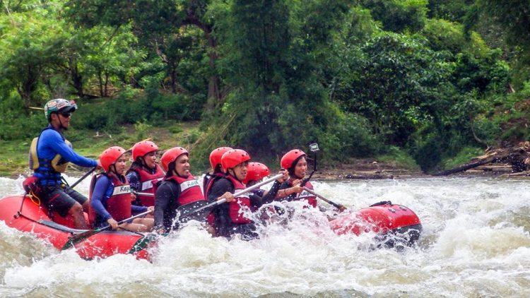 water rafting adventure